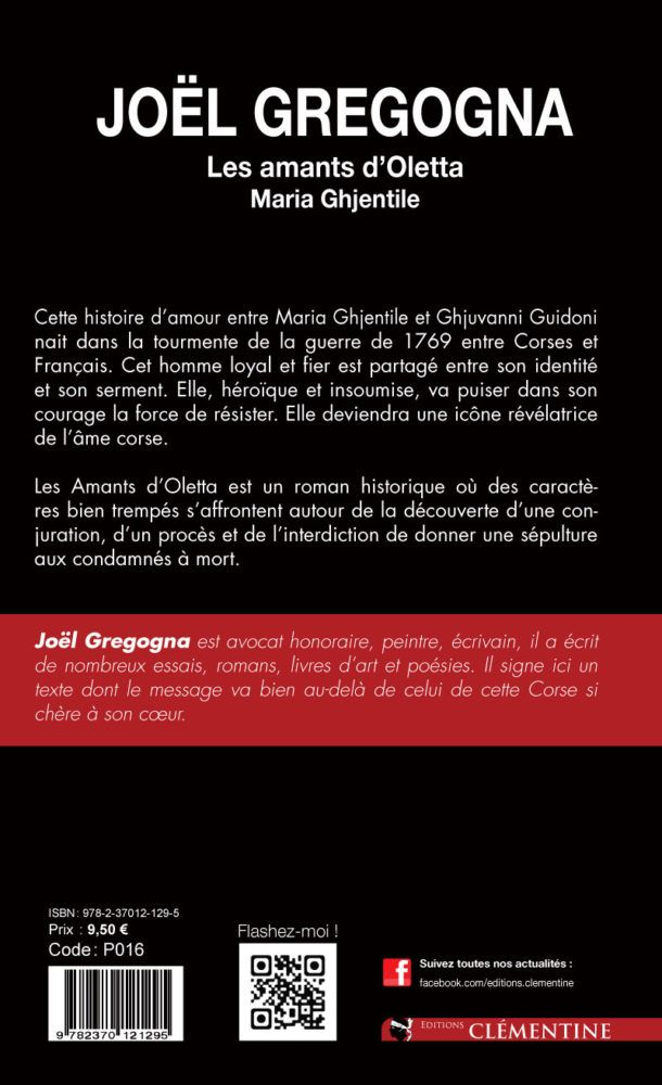 Les Amants D Oletta Version Poche Editions Clementine