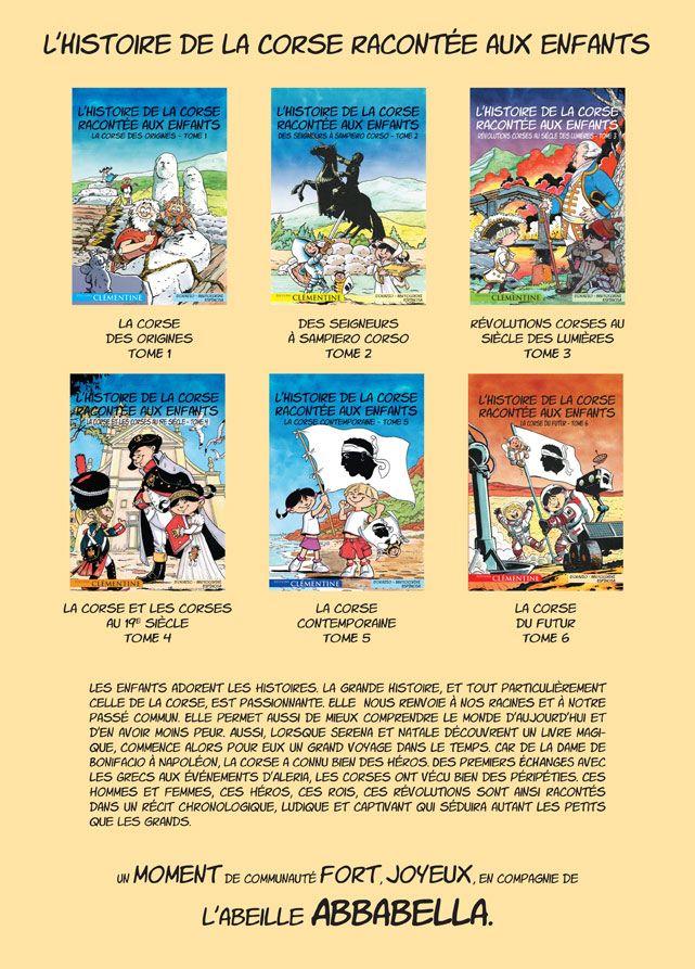 Coffret 6 Bd L Histoire De La Corse Editions Clementine